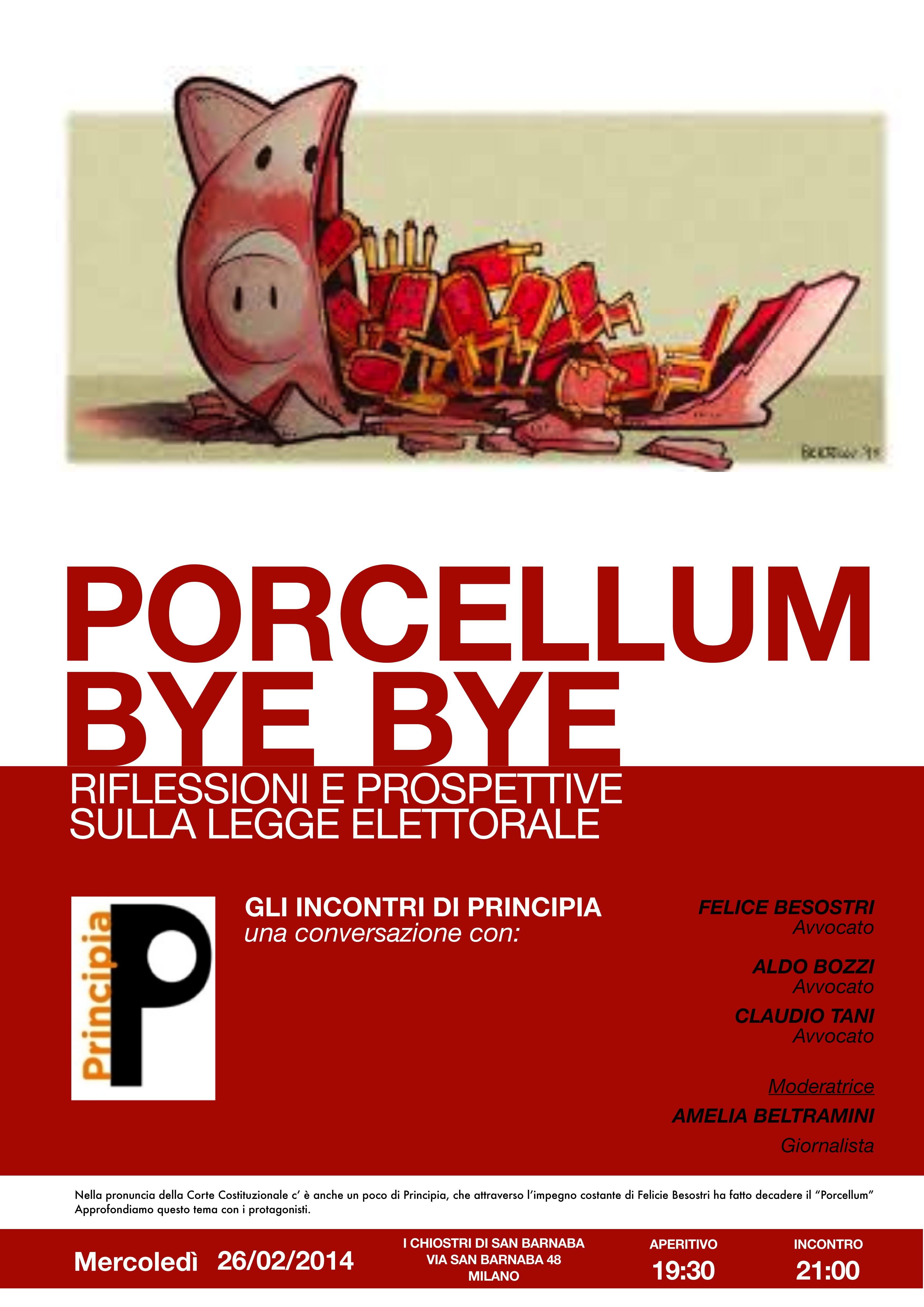 Porcellum BYE BYE 3
