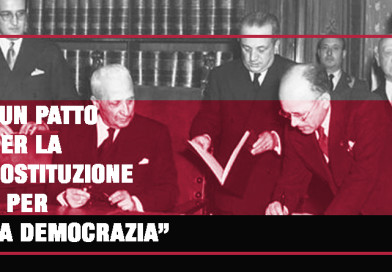 UN PATTO PER LA COSTITUZIONE E PER LA DEMOCRAZIA