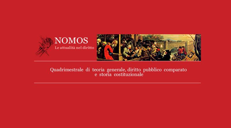 QUADRIMESTRALE DI TEORIA GENERALE, DIRITTO PUBBLICO COMPARATO E STORIA COSTITUZIONALE